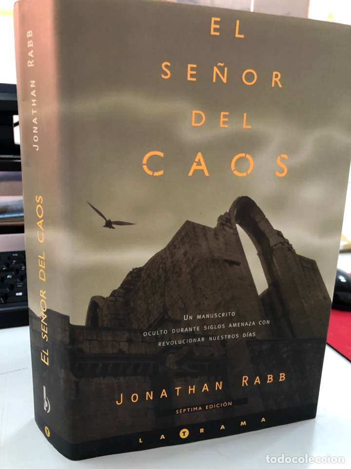 EL SEÑOR DEL CAOS - JONATHAN RABB (Libros Nuevos - Literatura - Narrativa - Ciencia Ficción y Fantasía)