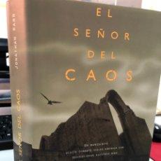 Libros: EL SEÑOR DEL CAOS - JONATHAN RABB. Lote 276999948