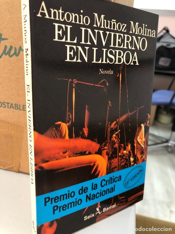 ANTONIO MUÑOZ MOLINA EL INVIERNO EN LISBOA SEIX BARRAL (Libros Nuevos - Literatura - Narrativa - Ciencia Ficción y Fantasía)