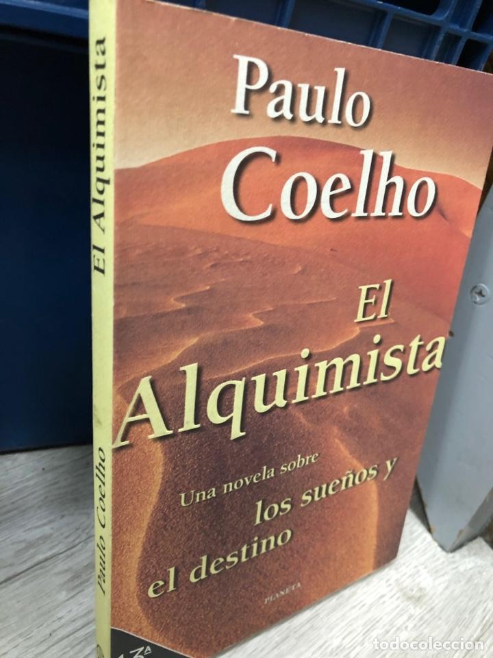 EL ALQUIMISTA PAULO COELHO TAPA BLANDA PLANETA (Libros Nuevos - Literatura - Narrativa - Ciencia Ficción y Fantasía)