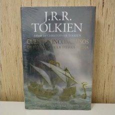 Libros: LIBRO TOLKIEN - CUENTOS INCONCLUSOS NÚMENOR TIERRA MEDIA - MINOTAURO SEÑOR DE LOS ANILLOS EL HOBBIT. Lote 278195073