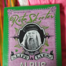 Libros: HARRY POTTER LIFE AND LIES OF ALBUS DUMBLEDORE BOOK REPLICA BY RITA SKEETER. Lote 278756023