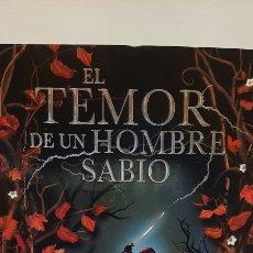 Libros: EL TEMOR DE UN HOMBRE SABIO DE PATRICK ROTHFUSS. Lote 280126463