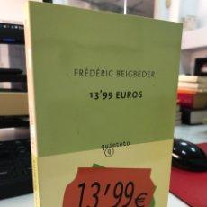 Libros: FREDERIC BEIGBEDER - QUINTETO 13,99€. Lote 283185903