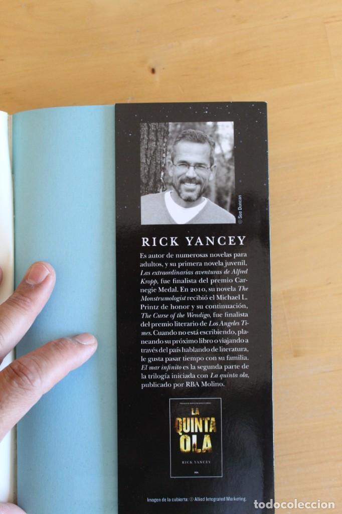 Libros: Rick Yancey - EL MAR INFINITO - Ed. RBA - 2016 - 314 páginas - 14x22cm - Foto 3 - 284388793