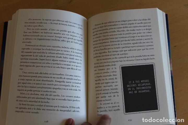 Libros: Andrea Izquierdo - ESCAPE: LAS SIETE POCIONES - Ed. Nocturna - 2018 - 295 páginas - 16x21 cm - Foto 2 - 284389413
