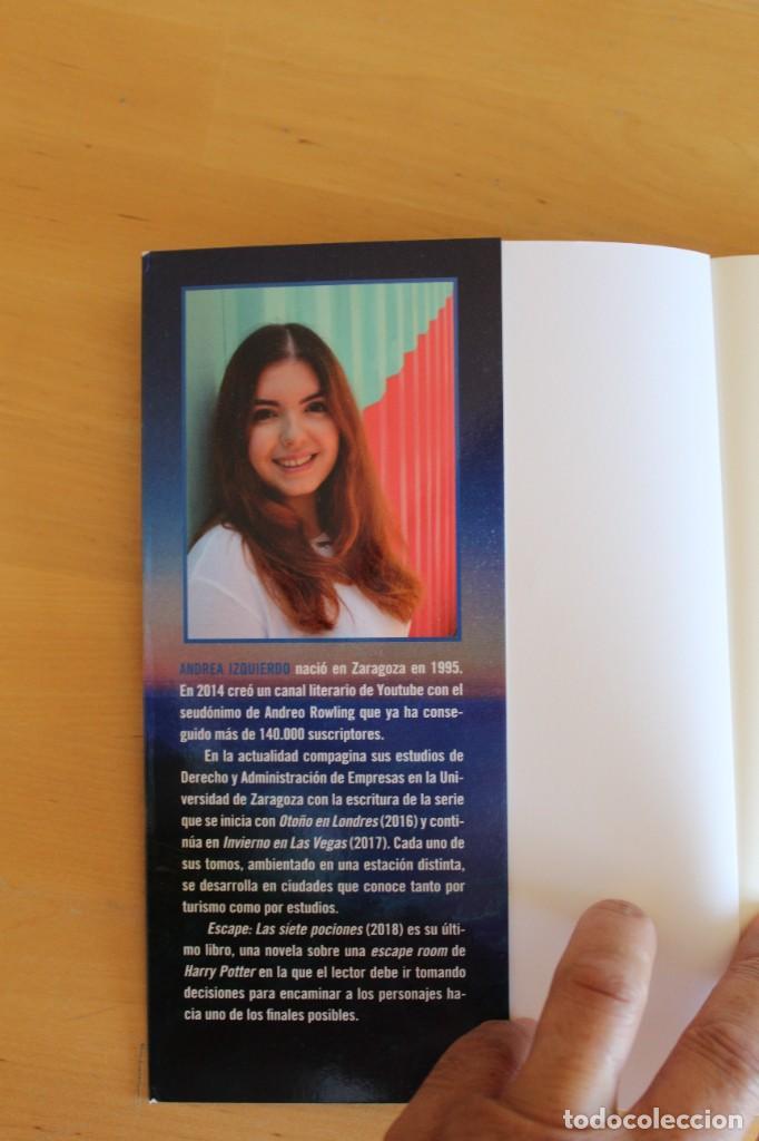 Libros: Andrea Izquierdo - ESCAPE: LAS SIETE POCIONES - Ed. Nocturna - 2018 - 295 páginas - 16x21 cm - Foto 4 - 284389413