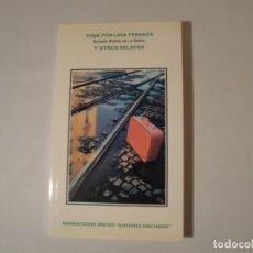 Libros: VIAJE POR UNA TERRAZA. AUTORA: DÑA. SUSANA GÓMEZ DE LA SERNA. AÑO 1996. NUEVO.. Lote 288183288