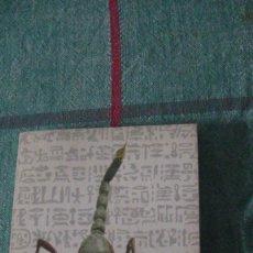 Libros: WILLIAM GOLDING. EL DIOS ESCORPION. ALIANZA, 1983. EL LIBRO DE BOLSILLO 468. Lote 288210718