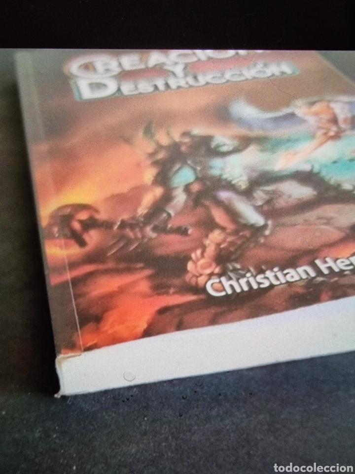 Libros: Creación y Destrucción, Cristian Hernández, como nuevo, nunca usado. - Foto 2 - 288576123
