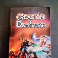 Libros: CREACIÓN Y DESTRUCCIÓN, CRISTIAN HERNÁNDEZ, COMO NUEVO, NUNCA USADO.. Lote 288576123
