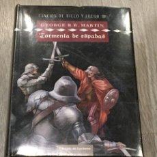 Libros: PRECINTADO - CHOQUE DE REYES - CANCION DE HIELO Y FUEGO - JUEGO DE TRONOS. Lote 290061453