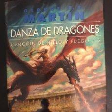 Libros: DANZA DE DRAGONES CANCIÓN DE HIELO Y FUEGO 5 GIGAMESH OMNIUS 2013. Lote 295039268