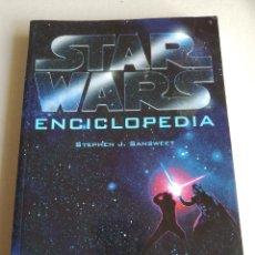 Libros: STAR WARS - ENCICLOPEDIA DE STEPHEN J. SANSWEET - ALBERTO SANTOS EDITOR. Lote 295858558