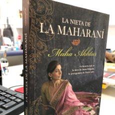 Libros: MAHA AKHTAR - LA NIETA DE LA MAHARANI. Lote 296625073