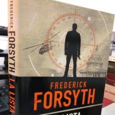 Libros: FREDERICK FORSYTH - LA LISTA. Lote 296636108