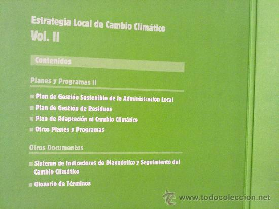 Libros: ESTRATEGIA LOCAL DE CAMBIO CLIMATICO - Foto 7 - 33352129