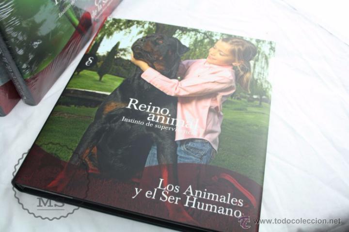 Libros: Enciclopedia de 11 Tomos - Reino Animal. Instinto Supervivencia - Ed. Signo, Año 2011 - Foto 2 - 51574908