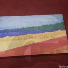 Libros: PAISAJES DE PALABRAS ESPACIOS NATURALES PROTEGIDOS DE MURCIA PEDRO CANO JOSE LUIS MONTERO PACO NADAL. Lote 80874339