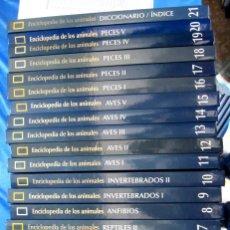 Libros: COLECCIÓN COMPLETA DE 21 LIBROS CON DVD DE LA ENCICLOPEDIA DE LOS ANIMALES DE NATIONAL GEOGRAPHIC.. Lote 87347492