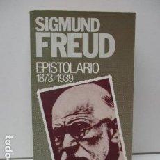 Libros: EPISTOLARIO (1873 / 1939) - FREUD, SIGMUND. Lote 90376144