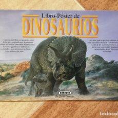 Libros: LIBRO PÓSTER GIGANTE DINOSAURIOS DEL DR. DAVID NORMAN - SUSAETA - AÑO 1993. Lote 94058639