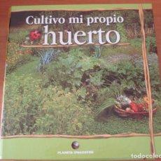 Libros: CULTIVO MI PROPIO HUERTO. DOS ARCHIVADORES CON MAS DE 200 FICHAS. PLANETA DE AGOSTINI. . Lote 94488886