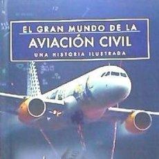 Libros: EL GRAN MUNDO DE LA AVIACIÓN CIVIL EDIMAT LIBROS. Lote 97969767