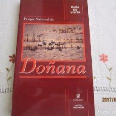 Libros: DOÑANA , PARQUE NACIONAL. Lote 98052859