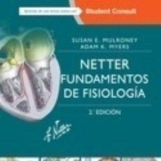 Libros: NETTER. FUNDAMENTOS DE FISIOLOGÍA + STUDENTCONSULT ELSEVIER ESPAÑA, S.L.U.. Lote 103682664
