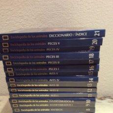 Libros: ENCICLOPEDIA DE LOS ANIMALES - NATIONAL GEOGRAPHIC 21 VOLUMENES + 20 DVDS - OBRA COMPLETA. Lote 104492967