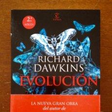 Libros: EVOLUCION. RICHARD DAWKINS. ESPASA SEGUNDA EDICION. 430 PAGINAS. NUEVO.. Lote 115183971