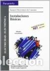 INSTALACIONES BÁSICAS PARANINFO (Libros Nuevos - Ciencias Manuales y Oficios - Ciencias Naturales)