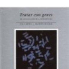 Libros: TRATAR CON GENES EDITORIAL OMEGA. Lote 70881527