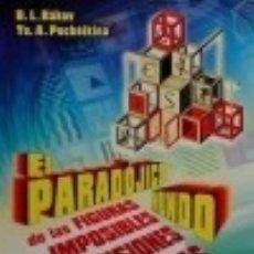 Livros: EL PARADÓJICO MUNDO DE LAS FIGURAS IMPOSIBLES Y LAS ILUSIONES ÓPTICAS EDITORIAL URSS. Lote 70988085