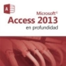 Resultado de imagen para Access 2013 en profundidad