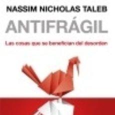 Livros: ANTIFRÁGIL. Lote 70975361