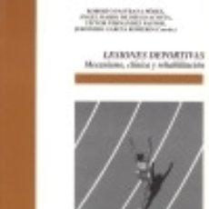 Libros: LESIONES DEPORTIVAS: MECANISMO, CLÍNICA Y REHABILITACIÓN. Lote 70621523