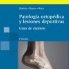 Libros: PATOLOGÍA ORTOPÉDICA Y LESIONES DEPORTIVAS. GUÍA DE EXAMEN. Lote 70597613