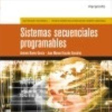 Livros: SISTEMAS SECUENCIALES PROGRAMABLES. Lote 123420262