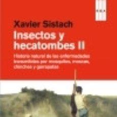 Libros: INSECTOS Y HECATOMBES II. Lote 128227291