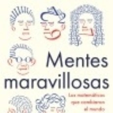 Libros: MENTES MARAVILLOSAS. Lote 133640022