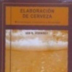 Libros: ELABORACIÓN DE CERVEZA MICROBIOLOGÍA, BIOQUÍMICA Y TECNOLOGÍA. Lote 133892773
