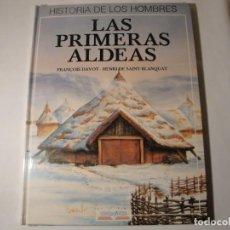 Libros: HISTORIA DE LOS HOMBRES: LAS PRIMERAS ALDEAS. EDELVIVES. NUEVO.. Lote 140092026