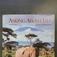 Libros: ASKING ABOUT LIFE. Lote 145269870