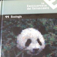 Libros: ENCICLOPEDIA DEL ESTUDIANTE NÚMERO 11 - ECOLOGIA. Lote 147337429
