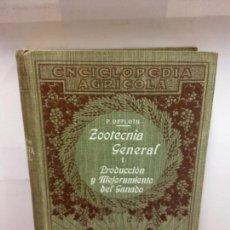 Libros: STQ.P. DIFFLOTH.ZOOTECNIA GENERAL.EDT, SALVAT.BRUMART TU LIBRERIA.. Lote 147825826