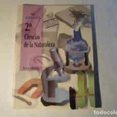 Livros: CIENCIAS DE LA NATURALEZA 2º SECUNDARIA. EDELVIVES. AÑO 1997. MORALES,ARRIBAS,ESPAÑA Y LÓPEZ. NUEVO. Lote 150555754