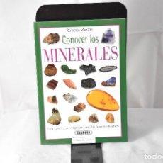 Libri: CONOCER LOS MINERALES. Lote 152921754