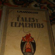 Libros: L.MAZZOCCHI. Lote 155915893